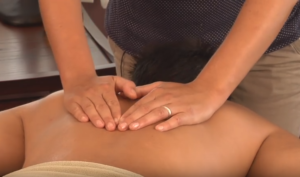 Longitudinal Massage